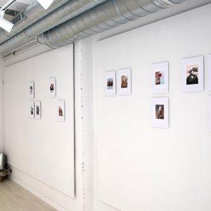 Collages digitales impresos sobre papel. Exposición en La U mutante
