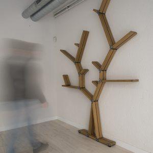 Estantería 'Árbol'. Exposición Diseño + Artesanía