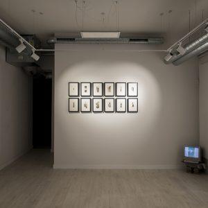 """Cuadrícula de collages manuales.Exposición """"Insominio"""" del 15 de marzo al 18 de abril"""